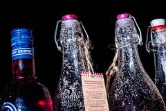 Sloe Gin making (Laurencemadill) Tags: homemade vodka gin sloes sloegin strobist sloevodka