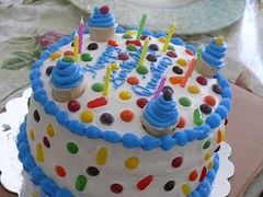 Ice Cream Cake by Vanessa, Ellsworth, ME, www.birthdaycakes4free.com