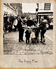 Poppy Man (dhcomet) Tags: market poppies remembranceday remembrance volunteer hertfordshire stalbans herts redpoppy servicemen rbl poppyday royalbritishlegion