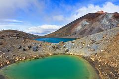 Emerald Lakes, Tongariro Crossing (Emily Miller Kauai) Tags: newzealand volcano crossing lakes hike alpine northisland tongariro emerald