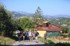 Walkers set off from Servigliano