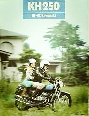 KAWASAKI KH250 (Rickster G) Tags: two classic vintage ads flyer stroke literature 400 70s kh 500 h1 h2 sales brochure triple spec 250 kawasaki dealer 750 stroker twinshock vjm