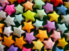 Color (Near but far...) Tags: colors stars origami colorful colore vivid craft colores colori colorido origamistars