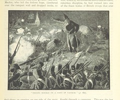 """Image taken from page 717 of 'Illustrated Battles of the Nineteenth Century. [By Archibald Forbes, Major Arthur Griffiths, and others.]' (The British Library) Tags: bldigital date1895 pubplacelondon publicdomain sysnum001266335 forbesarchibaldwarcorrespondentofthe""""dailynews large vol01 page717 mechanicalcurator imagesfrombook001266335 imagesfromvolume00126633501 sherlocknet:tag=force sherlocknet:tag=company sherlocknet:tag=form sherlocknet:tag=superior sherlocknet:tag=army sherlocknet:tag=office sherlocknet:tag=manner sherlocknet:tag=han sherlocknet:tag=main sherlocknet:tag=rock sherlocknet:tag=posit sherlocknet:tag=gen sherlocknet:tag=region sherlocknet:tag=tel sherlocknet:tag=point sherlocknet:tag=lieutenant sherlocknet:tag=let sherlocknet:category=organism"""