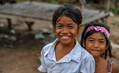 Koh Dach Girls (Rafio27) Tags: cambodge sourire filles kohdach