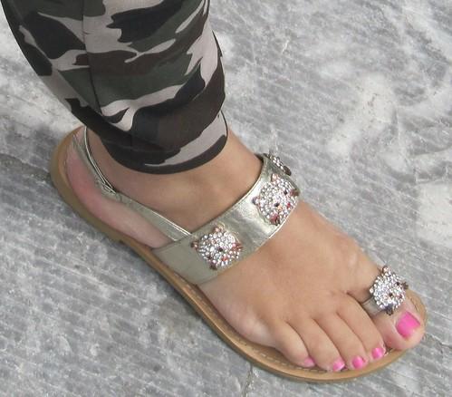 Gorgeous female feet