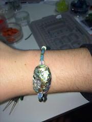 2 hour class 12/23/13 double bracelet