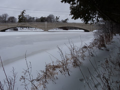 Along the river trail (andyscamera) Tags: snow ontario canada ice river peterborough peterboroughcounty otonabeeriver andyscamera parkhillbridge