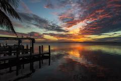 Pineland Sunset (tropicdiver) Tags: sunset gulfofmexico clouds marina pier florida pineisland pineland pineislandsound tarponlodgeandrestaraunt