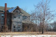 Sinister farmstead, rural Argyle, IA (mhm1986) Tags: abandoned iowa ruraldecay decayed farmstead
