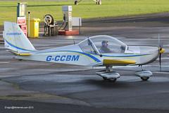 G-CCBM - 2003 build Aerotechnik EV-97 Eurostar, new Barton resident (egcc) Tags: manchester eurostar barton microlight pfa cityairport ev97 aerotechnik egcb rotax912 gccbm 31514023