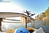 Fields Johnson from the paddleboat (tylersoden) Tags: sunset sky sun lake water sport boat spider nikon wake action board perspective paddle rail slide fisheye rails wakeboard wakeboarding paddleboat grind gaston infestation d4 lkg lakegaston actionsport liquidforce adamfields smithoptics nikond4 lakelife olliphotography afwake