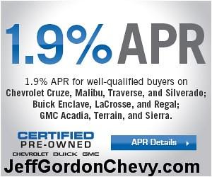chevrolet malibu jeffgordon silverado certifiedpreowned