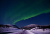 Light at the end of the road (AngryTheInch42) Tags: road winter sky snow mountains cold art ice nature stars landscape lights space lappland north astro arctic astrophotography aurora lapland astronomy nightsky colourful northern kiruna northernlights auroraborealis d800