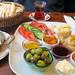 Breakfast at Babel Cafe, Istanbul, Turkey, Nov 2013