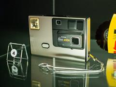 Kodak Disc 4000 Camera (The Adventurous Eye) Tags: camera museum kodak praha national technical disc muzeum 4000 nrodn technick