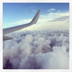 5 Jan 2014 (Rob Rocke) Tags: travel windows sky clouds wings skies escape altitude airplanes flight aerialviews rr transportation americanairlines vacations portals getaways airplanewings instagram
