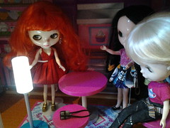 The girls are gossiping. about Paige.