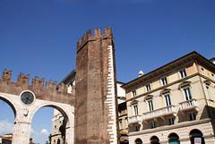 The Gates of Bra Piazza bra (philippe.romeo01) Tags: italy europe italia arena verona italie veneto verone piazzabra veronaarena palazzobarbieri granguardia italianpiazza