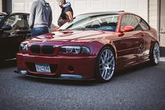 BMW M3 (Garret Voight) Tags: cars sports car minnesota german bmw modified custom lowered carshow stance chanhassen carsandcoffee