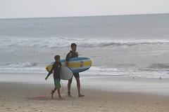 Father's Day (chantsign) Tags: ocean beach surfing surfboard teaching fatherandson oceancity