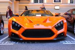 Zenvo ST1 (MonacoFreak) Tags: orange awesome montecarlo monaco lovely casinomontecarlo topmarques zenvost1 zenvo carsofmonaco topmarques2014