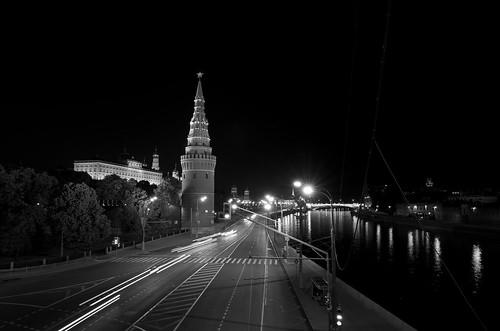Kremlin at night ©  Still ePsiLoN