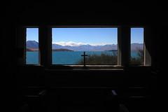 Tekapo Lake - Inside the church