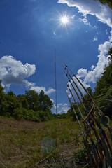 _DSC8307 (sara97) Tags: sun tower clouds bluesky broadcasttower photobysaraannefinke copyright©2014saraannefinke