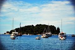 Landscape in Fasana, Croatia (EchoSmell) Tags: landscape boat echo croatia smell croazia fazana fasana sm3ll