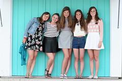 IMG_8786 (Five eyes) Tags: friends people sarah portraits zoe julia michigan emma graduation celebration miriam charlevoix 2014