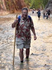 2016-09-p02-narrows-mjl-009 (Mike Legeros) Tags: ut utah zion zionnationalpark narrows river slotcanyon swiftwater wetfeet watchyourstep