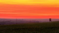 Abenddmmerung (Erich Hochstger) Tags: abenddmmerung dusk abendrot afterglow sonnenuntergang sunset abend evening abendstimmung eveningmood landschaft landscape himmel sky niedersterreich sterreich austria