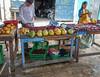 Nap Time (Chris Huddleston) Tags: basket sleeping fruitstand market greenbasket fruit child papaya