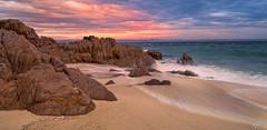 Shoal Beach (FPL_2015) Tags: portstephens nelsonbay nsw australia landscape sunrise rocks beach water seascape canon6d canon1635f4lis polarizer gnd09