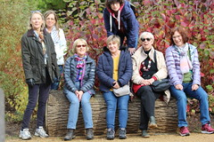 Jane Cooper Richmond Oct 16 11 group (Anne Gilmour) Tags: walkers