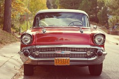 1957 Chevrolet Bel Air (rolandmks7) Tags: sonynex5n ricoh xrrikenon 55mm f22 chevrolet 1957 belair chevy vintage classic autumn colors altered