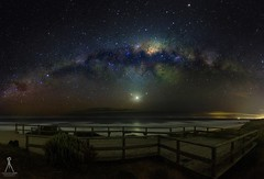 INTERSTELLAR (Vaughan Laws Photography | www.lawsphotography.com) Tags: longexposure longshutterexposure longexposurecolour nightshot night nightphotography nightsky astronomy astro milkyway stars galaxy beach landscape seascape canon canon6d aurora auroraaustralis nighttime beautiful sky outdoor le panorama panoramic space astrophotography vaughanlaws lawsphotography