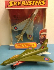 "LESNEY PRODUCTS ""MATCHBOX"" SERIES SKY-BUSTERS SB-21 LIGHTNING - 1978 (NyamalaTone) Tags: toy airplane avion jouet juguete vintage collectible flugzeug"