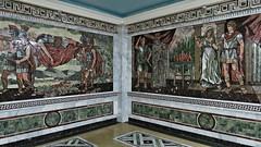 Alexander the Great Tilework inside Historical Museum of Sughd (h0n3yb33z) Tags: tajikistan khujand silkroad