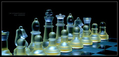 Battle Ready (J Michael Hamon) Tags: chess board boardgame stilllife photoborder blackbackground strategy king queen pawn tabletop light lighting shadow hamon nikon d3200 nikkor 40mm game medieval widescreen