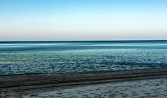 (klgfinn) Tags: autumn balticsea cloud footprint frost landscape sand sea shore sky skyline water