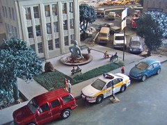10/18/2016 (THE RANGE PRODUCTIONS) Tags: greenlight model matchbox hoscalefigures ertl johnnylightning suv dioramas diecast dodge diecastdioramas 164scale toy
