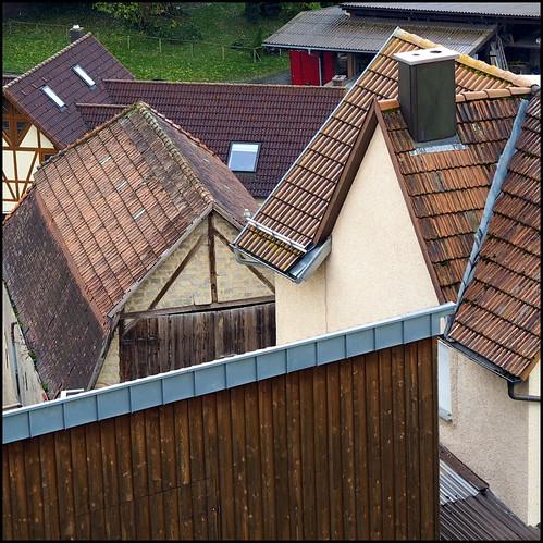 - Dachformen -