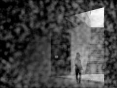 F_DSC6816-BW-Nikon D300S-Nikkor 28-300mm-May Lee 廖藹淳 (May-margy) Tags: maymargy 出口 bw 黑白 花崗石 反射 建築物 廊柱 階梯 人像 背影 模糊 散景 街拍 streetviewphotographytaiwan 天馬行空鏡頭的異想世界 mylensandmyimagination 線條造型與光影 linesformandlightandshadows 心象意象與影像 naturalcoincidencethrumylens 台北市 台灣 中華民國 taiwan repofchina fdsc6816bw portrait granite reflection viewfromback building stairs columns blur bokeh taipeicity nikond300s nikkor28300mm maylee廖藹淳