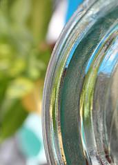 Bottle Neck (Helen Orozco) Tags: macromondays edge canonrebelsl1 bottle glass