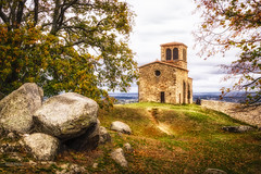 Chapelle Saint-Vincent (Stphane Slo) Tags: automne chapellesaintvincent eglise france hdr paysage pentax pentaxk3ii personnes rhne saintlaurentdagny campagne chapelle landscape rocher