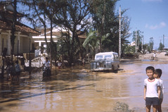 Wet Season in Le van Duet st. Pink Palace (NZST) Tags: nzst vietnam quinhon landrover monsoon flooding wetseason pinkpalace
