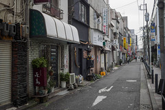 street of Kato Kiyomasa (kasa51) Tags: backstreet bar tavern restaurant yokohama japan    cityscape