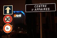 RUNGIS: March International (sc.eric) Tags: rungis min marche enseigne panneaux nuit france